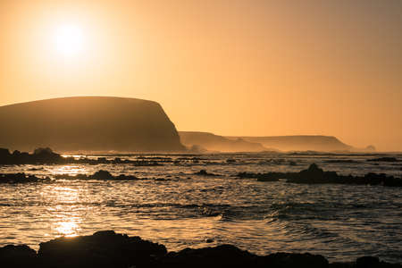 Sunrise at the coast of Kitty Miller Bay of Phillip Island, Victoria state of Australia.