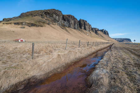 The beautiful scenery of the countryside of Iceland. 版權商用圖片