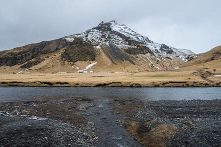 The beautiful landscape in Iceland the Nordic country of Scandinavia.