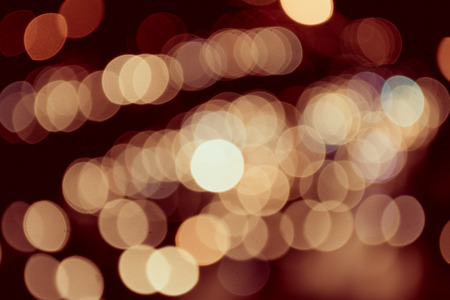 dignified: abstract background with bokeh lights