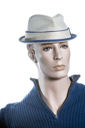 Mannequin with hat