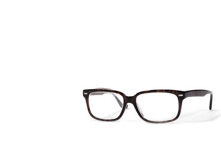 eyeglasses isolated on white  Stock Photo