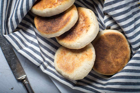 English muffins homemade bread savory