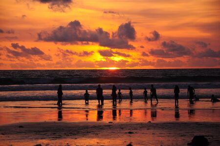 Sunset Beach in Bali