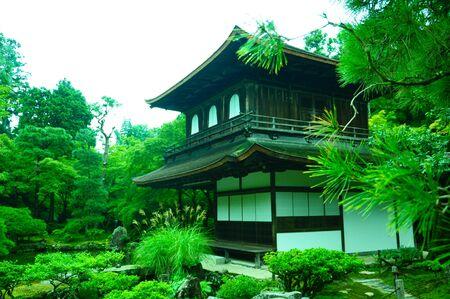 Ginkaku-ji Temple garden