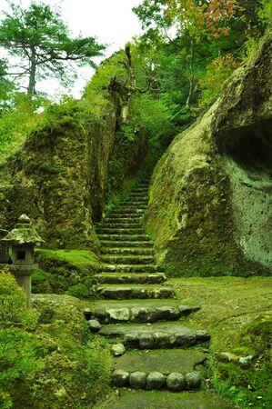 Temple of Ishikawa Prefecture Stock Photo