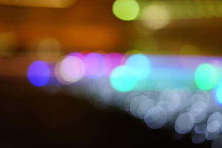 ぼやけライト 写真素材