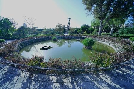 Malta Island Garden 写真素材