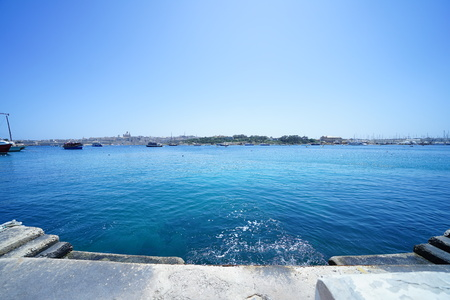 Sea of Malta island