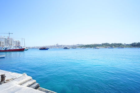 Sea of Malta island
