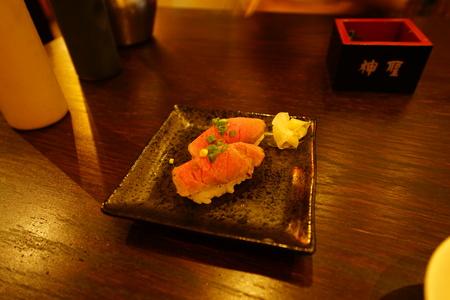Milk sushi