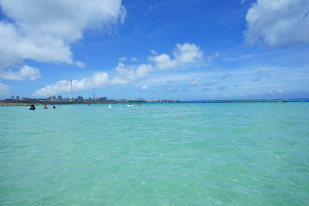 Sea and sky in Okinawa 写真素材