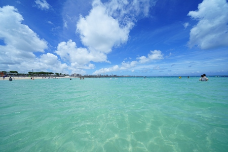 Sea and sky in Okinawa 写真素材