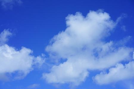 The Okinawan sky