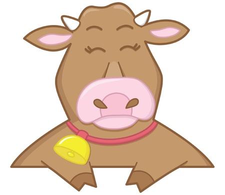 cow bells: vaca feliz