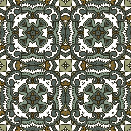wintery: snowflake pattern  wintery seamless pattern with ethnicity motif