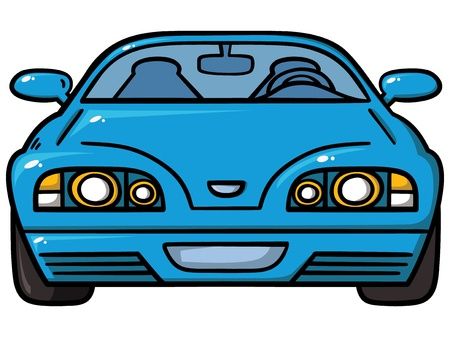 blue car Stock Vector - 20233787