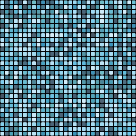 vector seamless abstract mosaic pattern Vector
