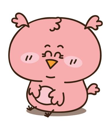 Baby girl owl Stock Vector - 22257554