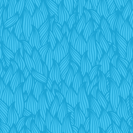 wave pattern   Seamless vector doodle pattern with waves Vector