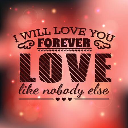 romantic: Beautiful vector romantic background   Illustration