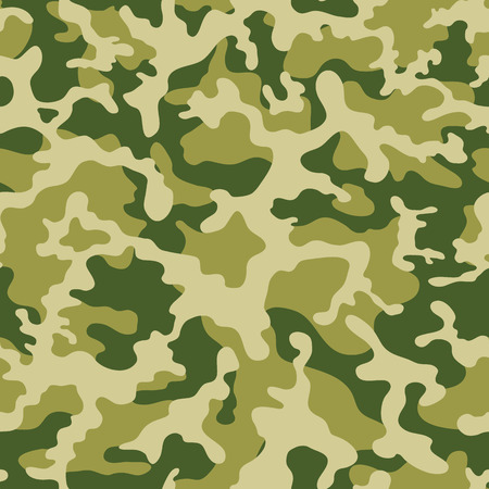 camouflage clothing: military camouflage pattern. Vector seamless pattern