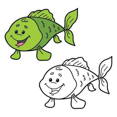 Nett Ein Fisch Zwei Fische Malvorlagen Bilder - Ideen färben ...