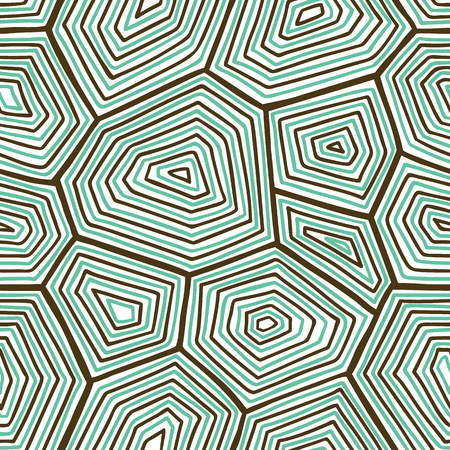 shell pattern: ornate turtle shell pattern. seamless pattern with  doodle turtle shell