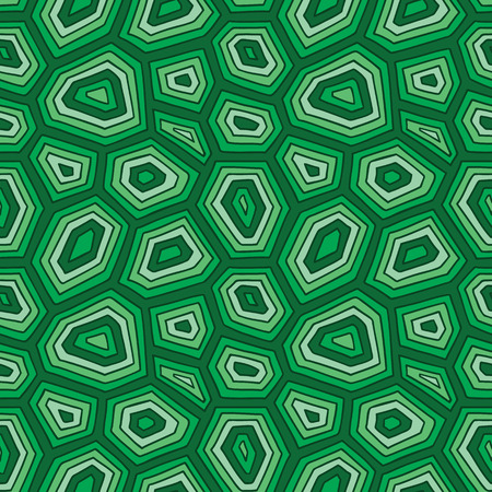 ornate turtle shell pattern. vector seamless pattern with hand drawn doodle turtle shell Illusztráció