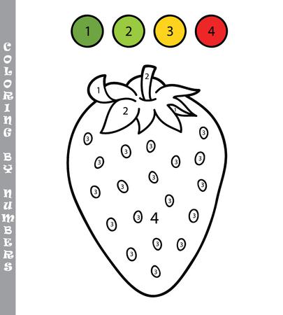 Ilustración Vectorial Para Colorear La Página De Dibujos Animados De ...