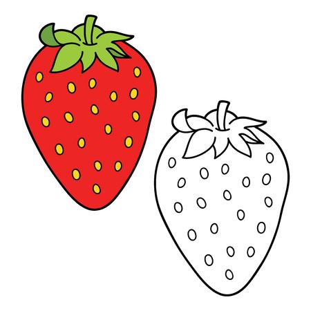 Imagen Para Pintar Fresa Dibujo para colorear Fresa Img 10326dibujos ...