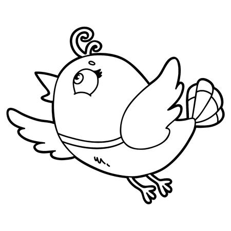 Lindo Personaje De Limón De Dibujos Animados Para Niños Página Para