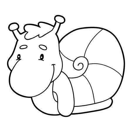Ilustración De Vector De Personaje De Dibujos Animados Lindo Para ...