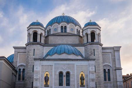 serbian: Serbian Orthodox Church of Saint Spyridon in Trieste, Italy