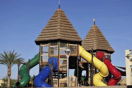 children playground: Children playground Stock Photo