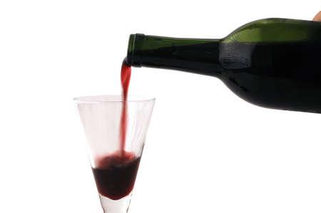 赤ワインおよびワイン カップ