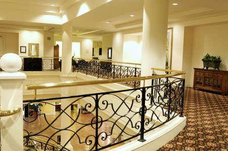 marbled effect: Vest�bulo del hotel