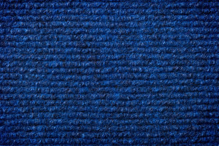 Dark blue artificial cotton texture for background  Top view photo
