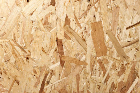 osb: Recycled compressed wood texture for background. Top view