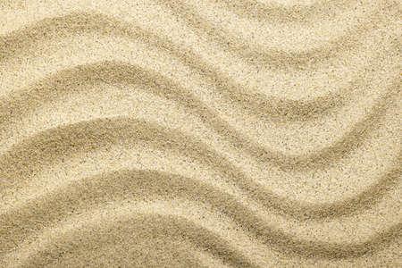 Sandy beach background. Sand texture. Top view