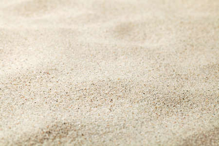 Sandy beach texture for background with copy space
