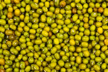 close up of mung bean background photo