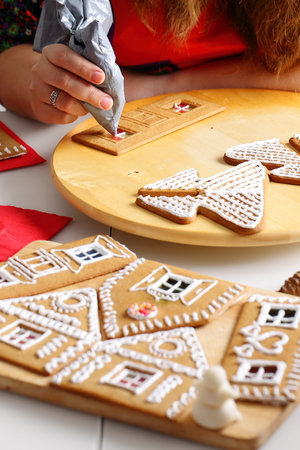 Fancy Gingerbread House Wall Decoration Component - Wall Art ...