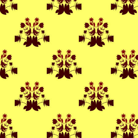 florescence: Seamless Repeat Pattern Vector illustration. Image tiles seamlessly, perfect for background, textiles, wrapping paper and more!