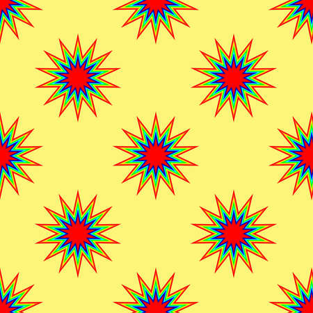 many coloured: Seamless Repeat Pattern