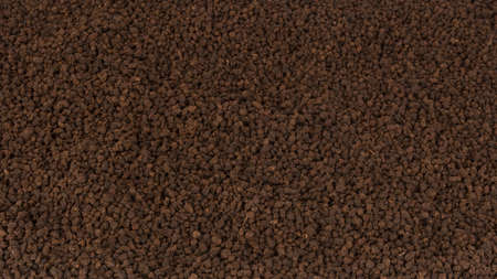 granular: Granular black tea as texture