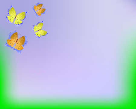 Vector abstract butterflies as background. Vector illustration. EPS-10. Transparency and gradient mesh used.