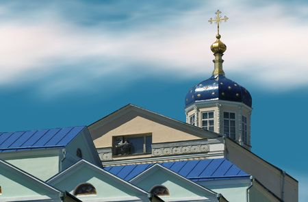 thursday: clean thursday is old russian church holiday in spring Stock Photo
