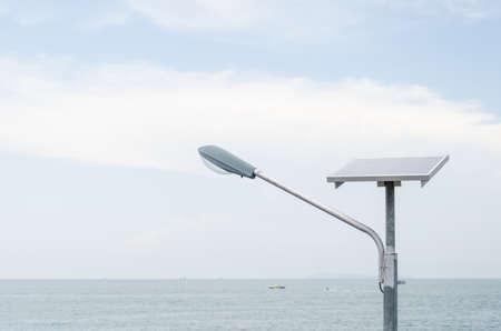 outdoor lighting: Outdoor solar lighting