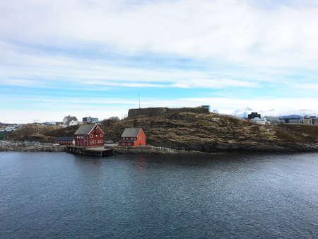 sconce: Nyholmen sconce in Bodo, Norway.